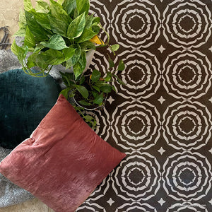 NEW! Ripple Tile Allover Stencil