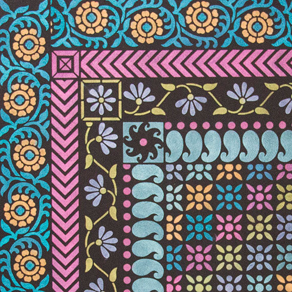 Sari-inspired Indian Furniture Border Stencils by Royal Design Studio Stencils