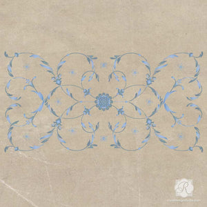 DIY Italian Decor - Panel Painted Furniture Stencils - Royal Design Studio