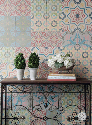 Mix and Match Tile Patterns for Allover Wall Art and European Design - Royal Design Studio