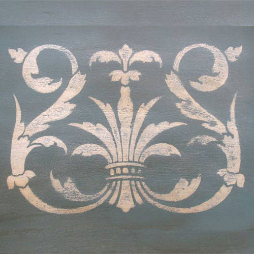Classic European Designs to Stencil onto Walls