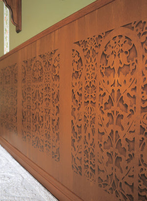 Border Stencils Carved Arch Panel