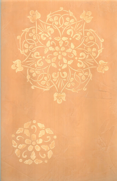 Floral Medallion Set A Wall Stencil