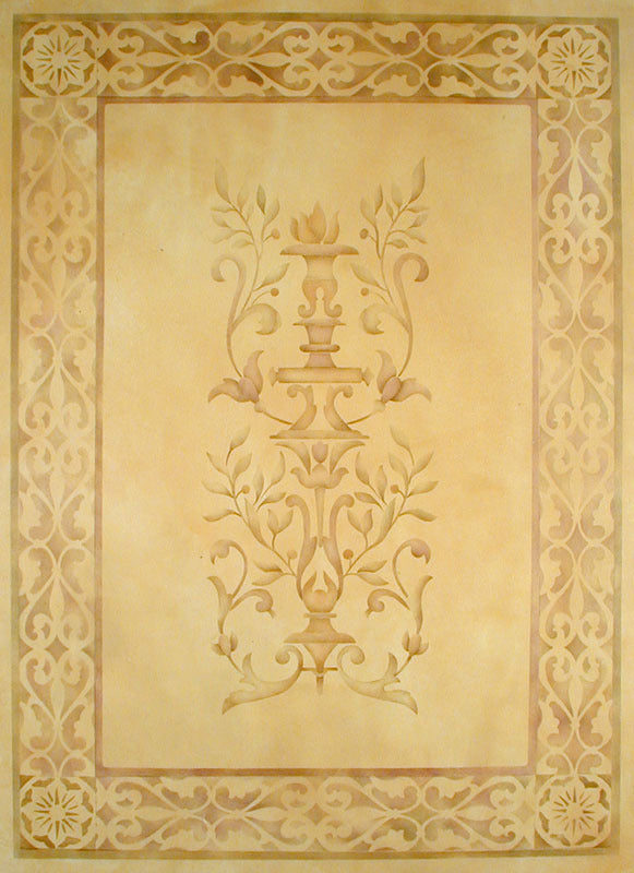 Stencils | Parisian Urn Panel Theorem