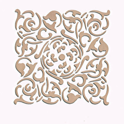 Classic European Tile Design with Tile Stencils - Royal Design Studio