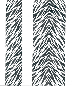 Animal Print and Zebra Stripes Furniture and Craft Stencils - Royal Design Studio