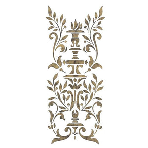 Furniture Stencils Parisian Urn Classic Panel Stencil - Royal Design Studio