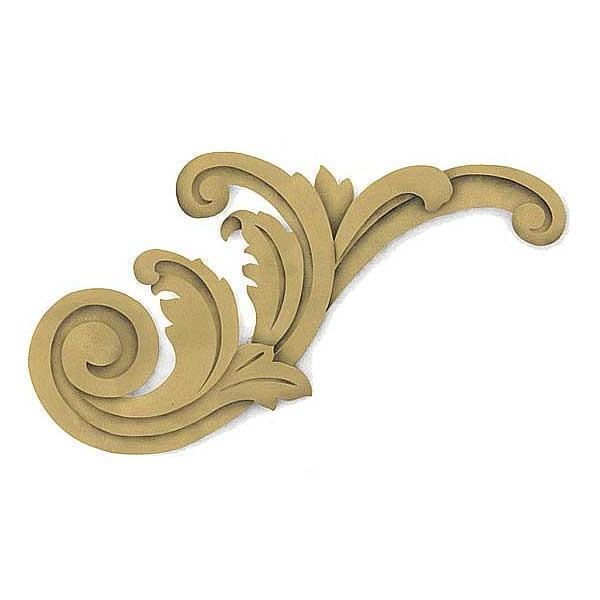 Furniture Stencil | Acanthus Corner Scroll Classic Furniture Painting Stencils
