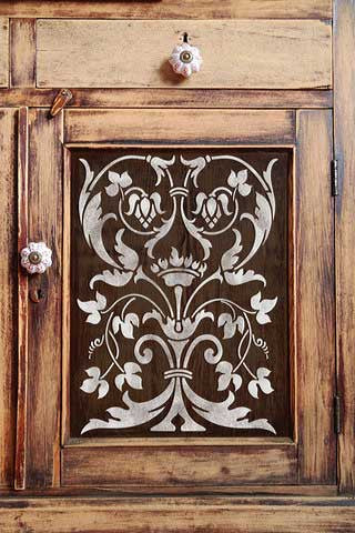 Firenze Classic Panel Stencils - Painted Furniture Panel Stencils - Royal Design Studio