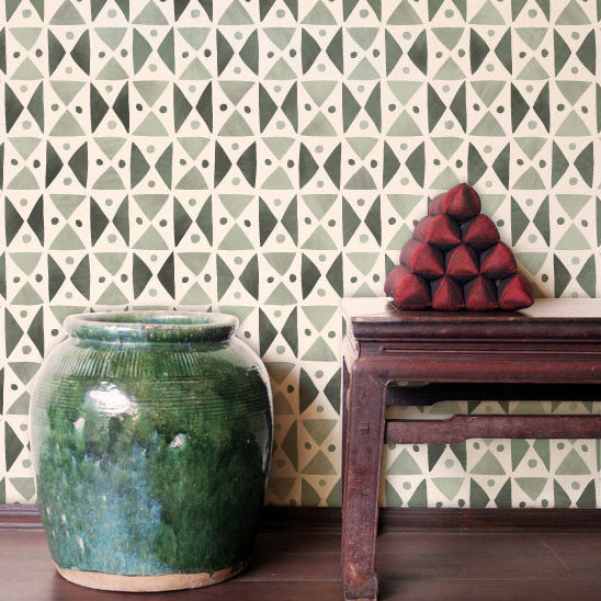 African Design and Tribal Pattern and Geometric Wall Stencils - Royal Design Studio