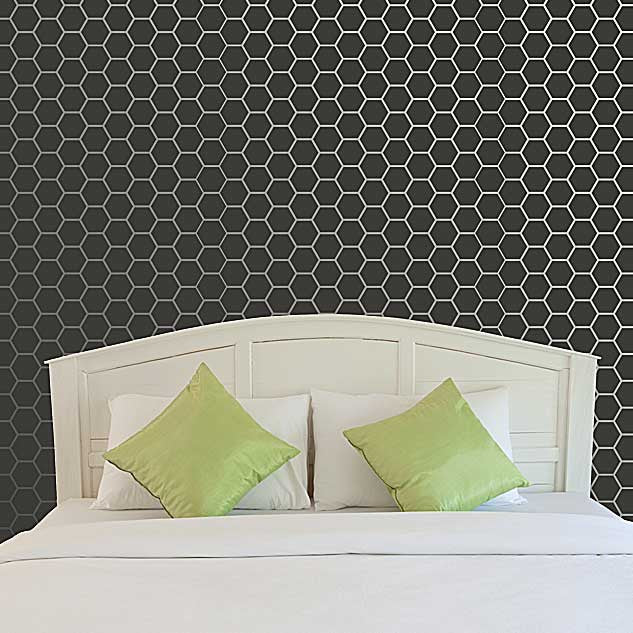 Allover Wall Stencils Honeycomb Stencils Royal Design Studio