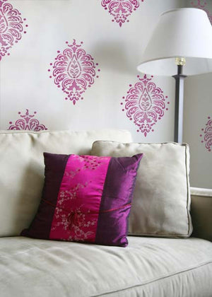 Walls Stencils for Indian Wall Art Patterns - Royal Design Studio