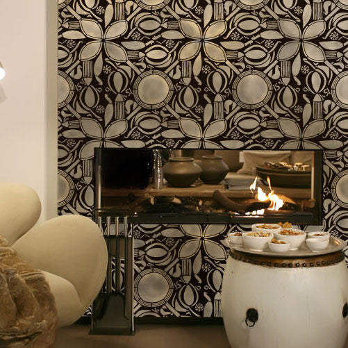 Circle of Life African Stencil - Stenciling Walls with African Designs