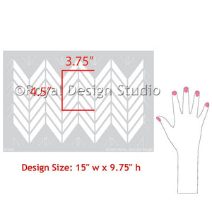 Craft Stencils for DIY Christmas and Holiday Decor and Table Decorations