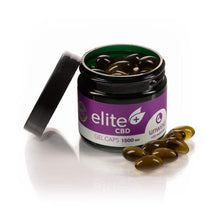 Load image into Gallery viewer, CBD Oil Capsules (with Melatonin) - Elite Oil