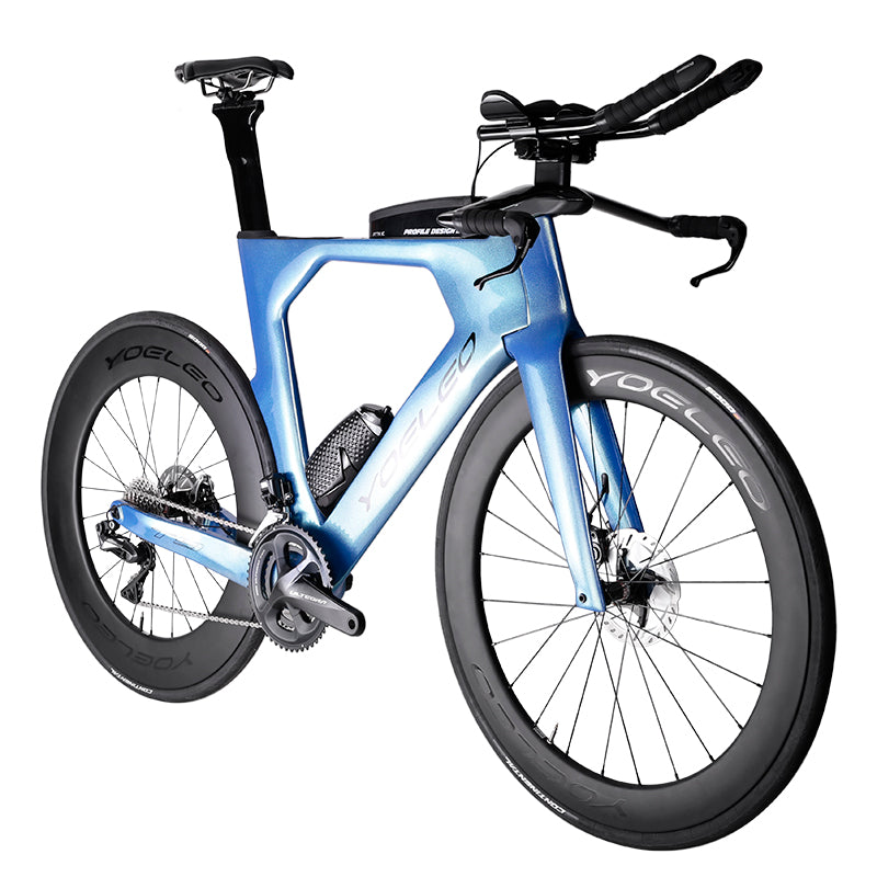 T9S PRO Disc Brake Carbon Triathlon Bike - YOELEO