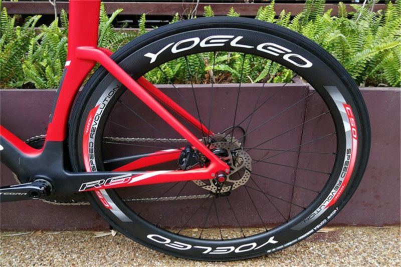 R6 Aero Disc Brake Road Carbon Bike STD - YOELEO