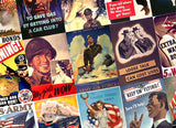 WWII Poster Playing Cards