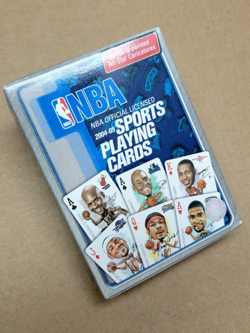 Official 2004-2005 NBA Playing Cards