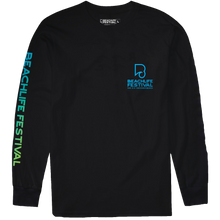 Load image into Gallery viewer, Festival Lineup Longsleeve - Black