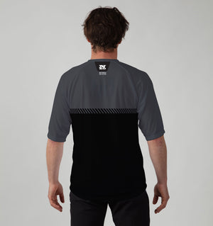 Mens Trail T - Charcoal / Black