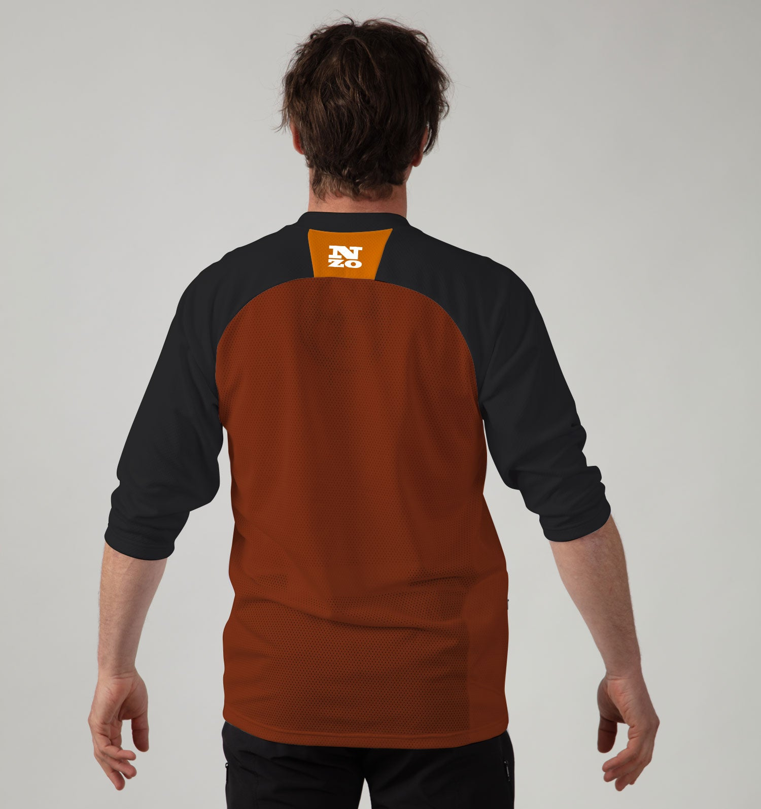 3/4 Sleeve MTB Top  - Nzo DESIGN 033-3
