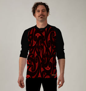 3/4 Sleeve MTB Top  - LIMITED EDITION - Nzo DESIGN December