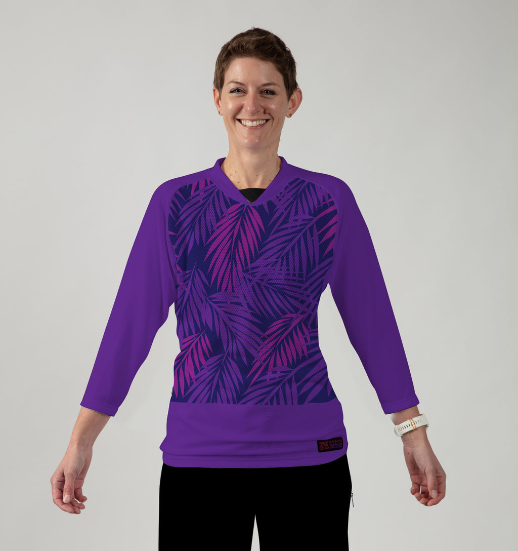 Women 3/4 Sleeve MTB Top  - LIMITED EDITION - Nzo DESIGN November