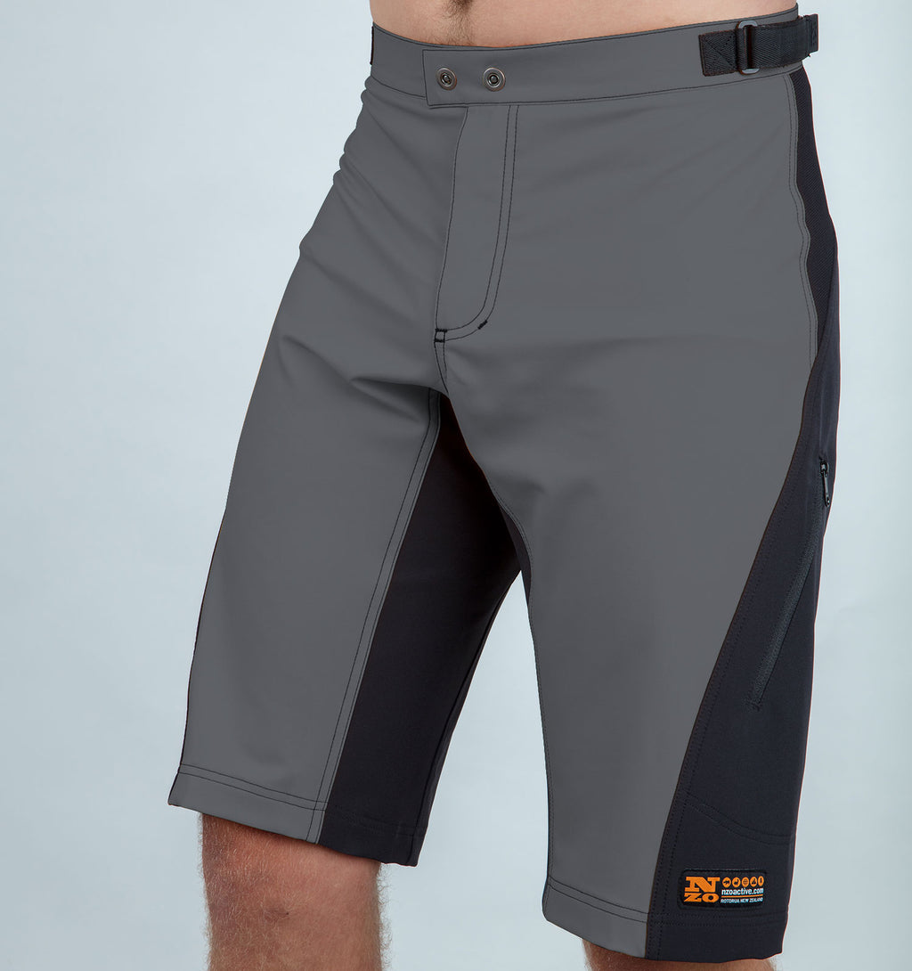 Burners - Men trail shorts - Charcoal/Black