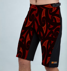 Burners - Men trail shorts - LIMITED EDITION - Nzo DESIGN December