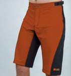 Burners - Men trail shorts - Nzo DESIGN 031_4 Rust