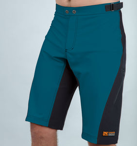 Burners - Mens Trail Shorts - Steel/Black
