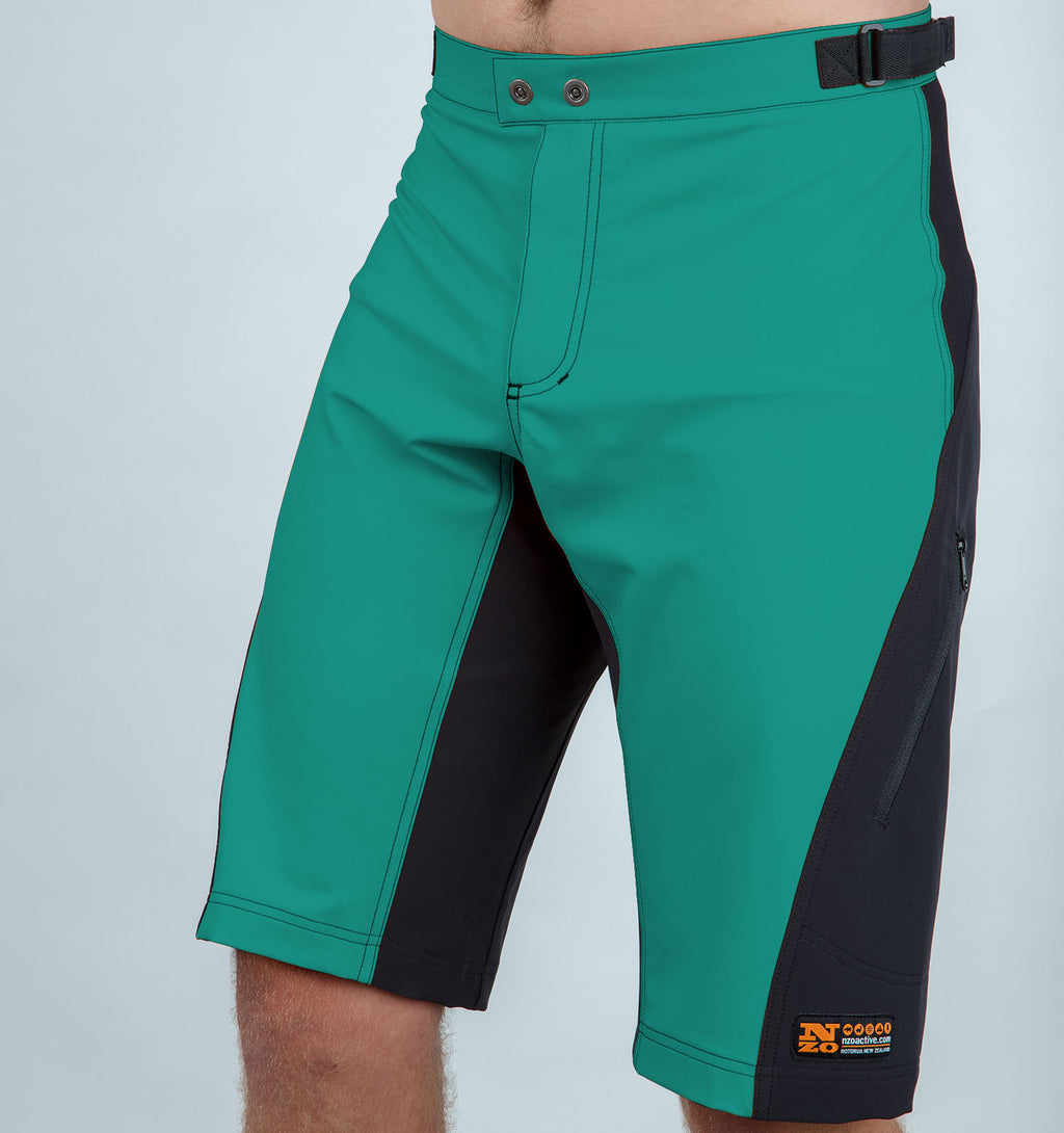 Burners - Men trail shorts - Nzo DESIGN 031_2 Turquoise
