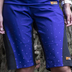 Riddler - Women trail shorts - ON DEMAND Nzo DESIGN - Fading Dots