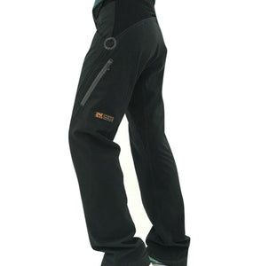 Dusters - Lightweight Mens Trail Pants - black
