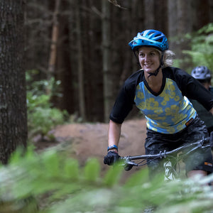 Trail T shirt women NZO for Mountain Biking