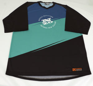 Mens Bike Trail T Jersey - Nzo DESIGN 036-2