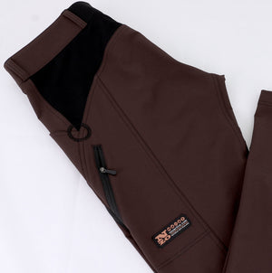 Dusters - Light Men trail pants - CHOCOLATE