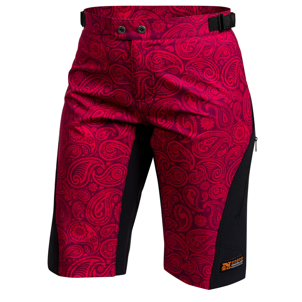 Riddler - Womens Trail Shorts - Limited Edition 06 Red/Black