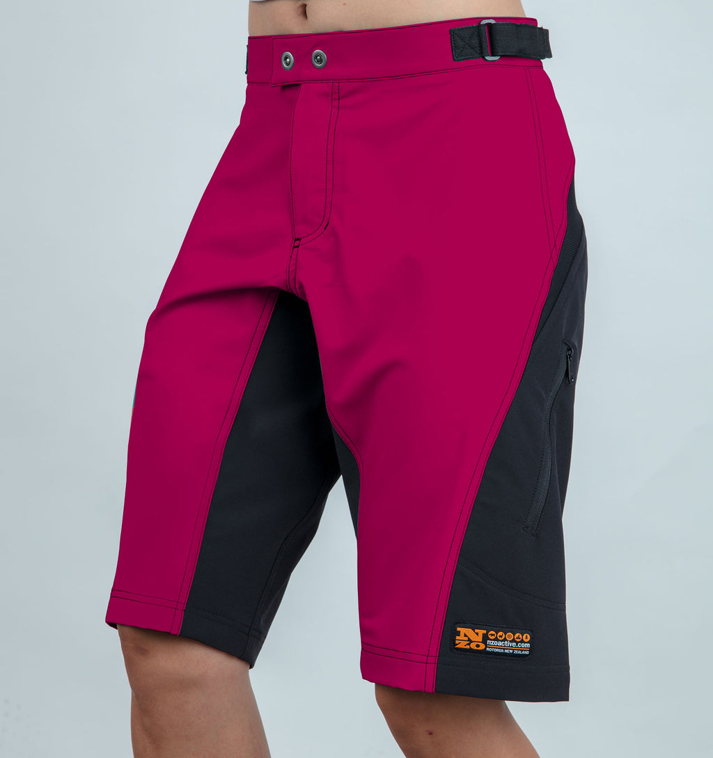 Women trail shorts - Nzo DESIGN - 037_1 Grape