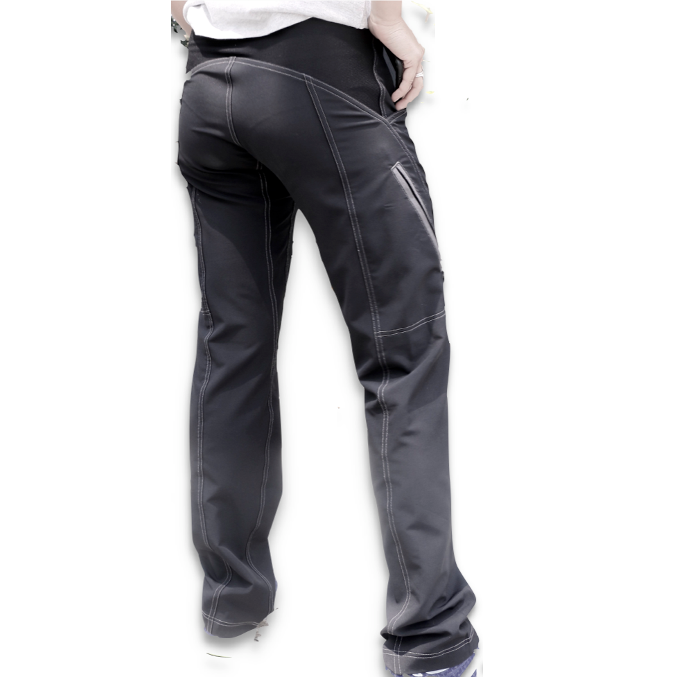 Dusters - Light Women trail pants - BLACK