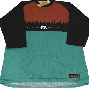 3/4 Sleeve MTB Top  - Nzo DESIGN 033-2
