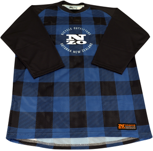 3/4 Sleeve MTB Top  - Nzo DESIGN 034-1