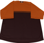 Mens Bike Trail T Jersey - Rust/Black