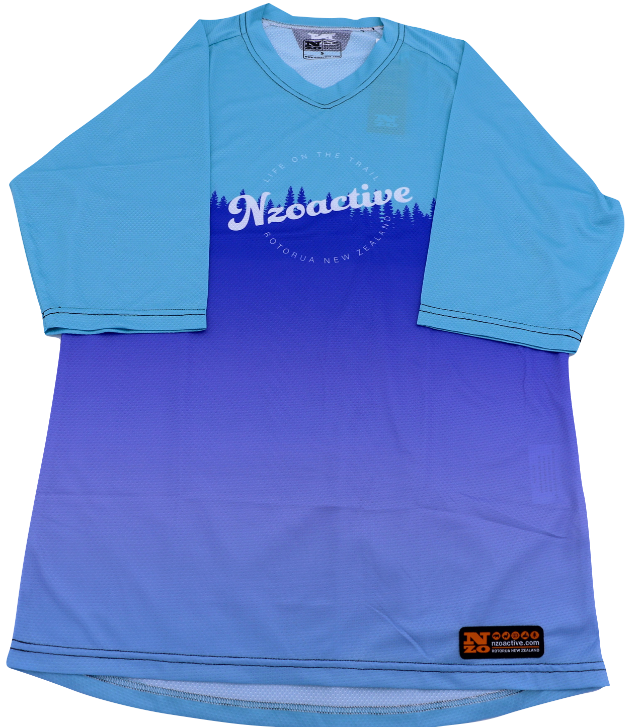 Womens Bike Trail T Jersey - Nzo DESIGN 039-1