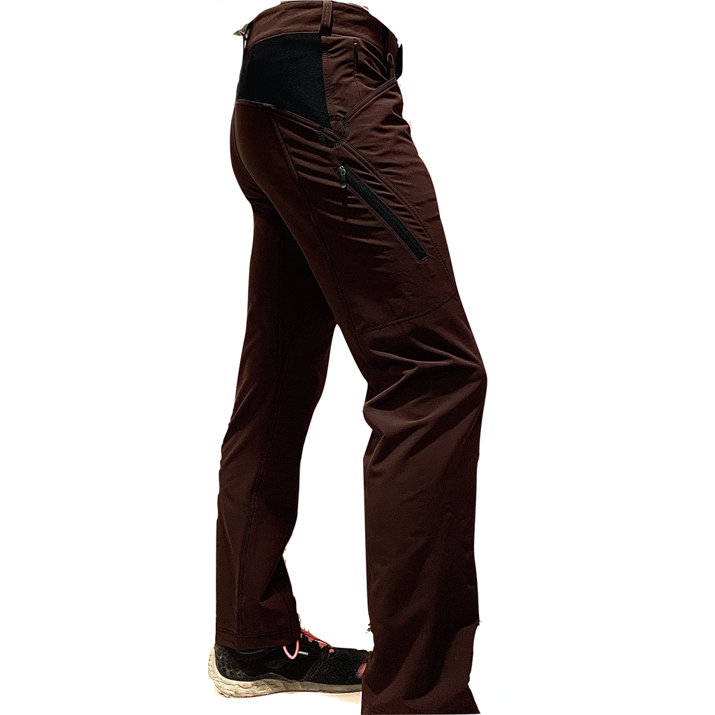 Dusters - Light Womens Trail Pants - CHOCOLATE Tall