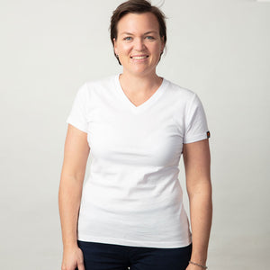 Womens Organic cotton T Shirt - White