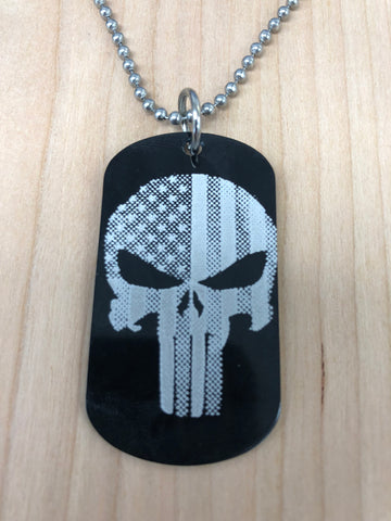 Image of Laser Engraved Dog Tag