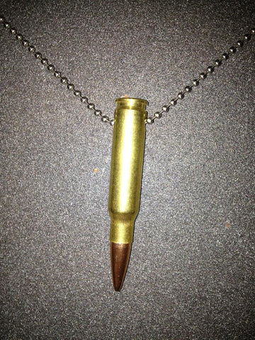 308 Bullet Necklace
