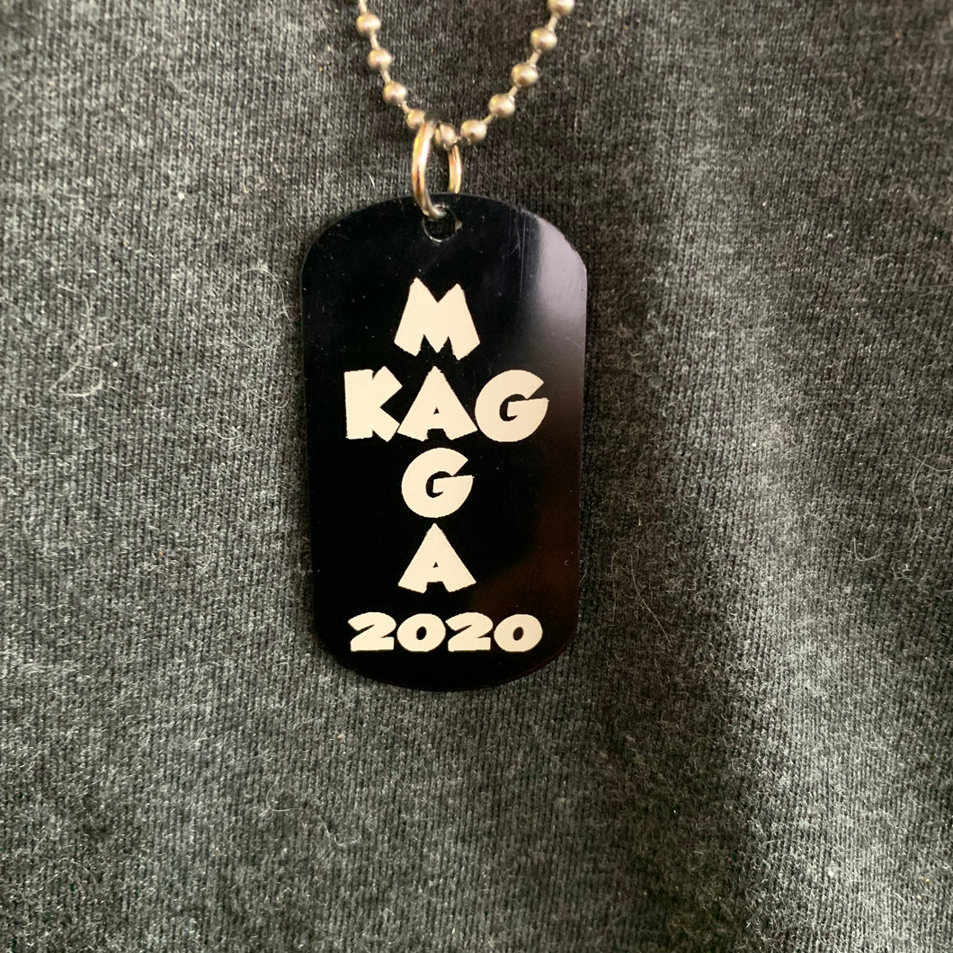 MAGA KAG 2020 Dog Tag